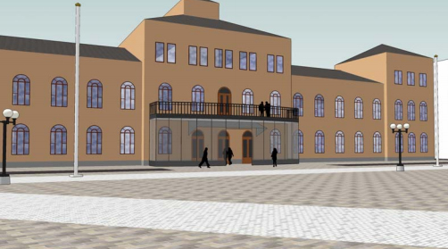 Ny entré Stadshuset i Sundsvall