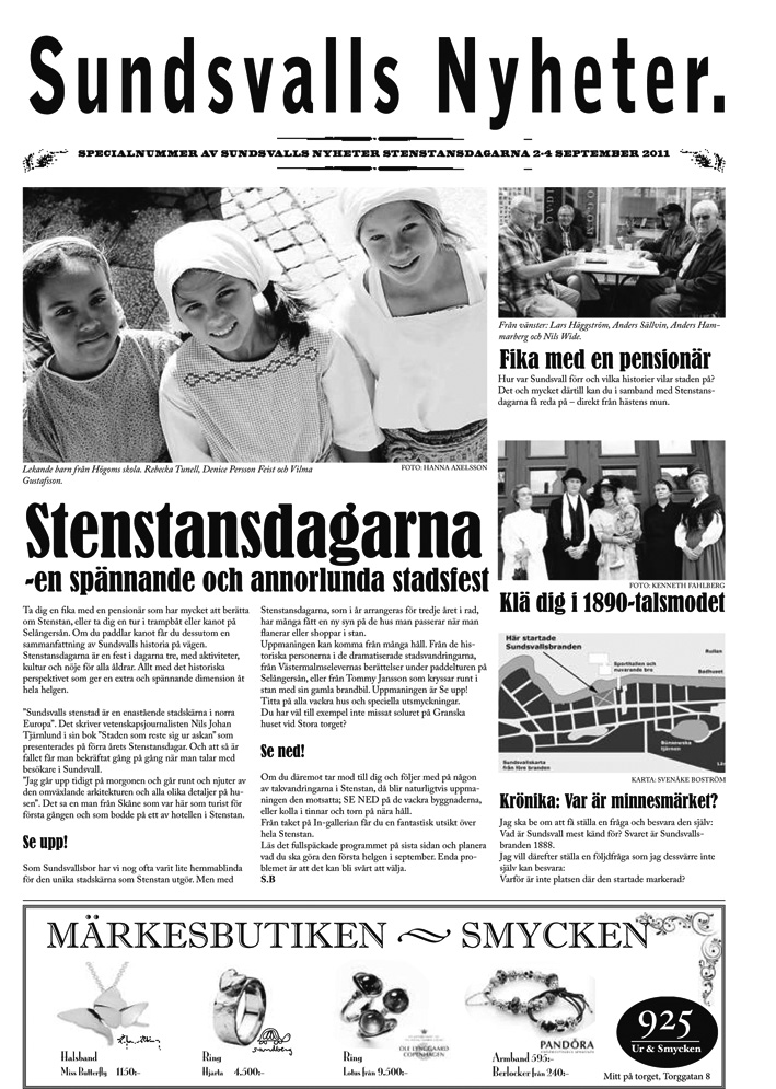 Stenstanstidningen 2011