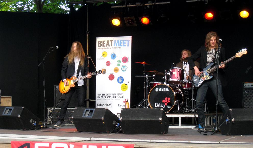 Blitzkrieg Blues, hårdrockband från Sundsval