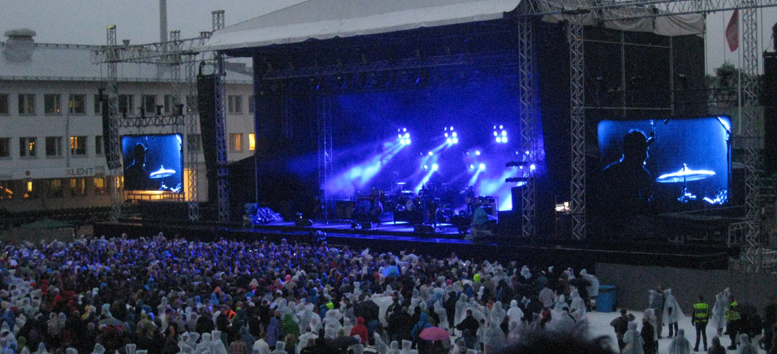 Kent på Konsertfesten i Sundsvall