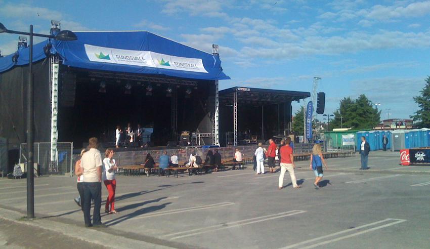 Politikerduellen under fredag Drakfestivalen 2012